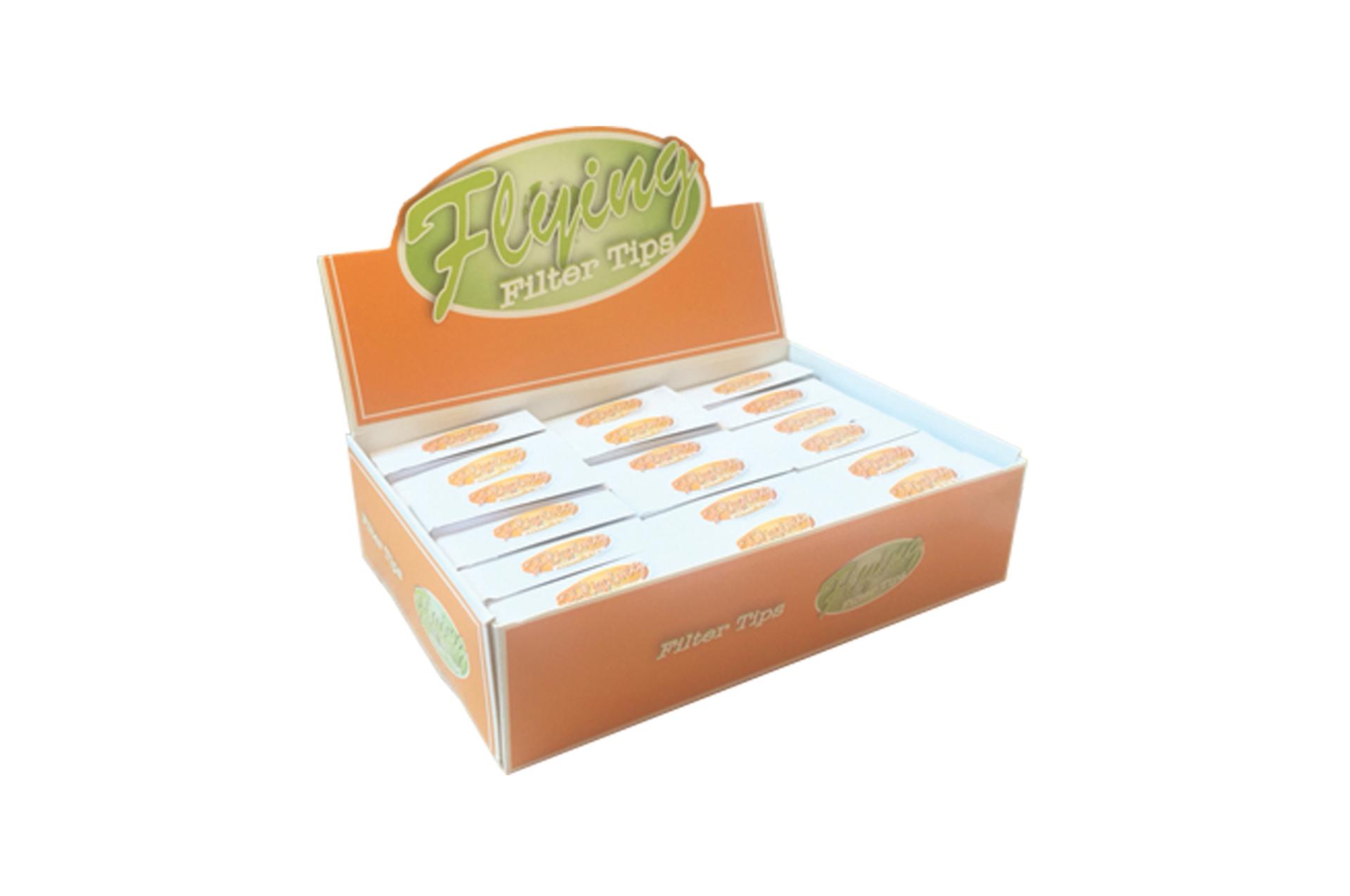 Filter Tips Orange Pack 11 + 1